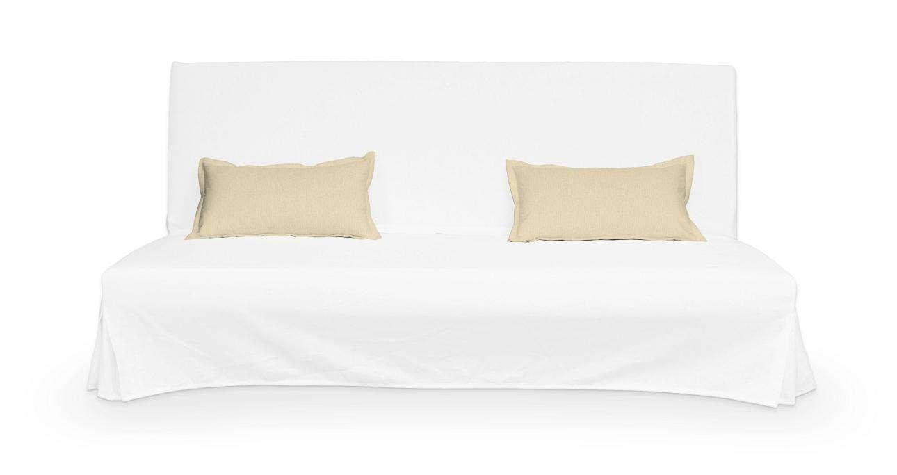 2 poszewki niepikowane na poduszki Beddinge poduszki Beddinge w kolekcji Chenille, tkanina: 702-22