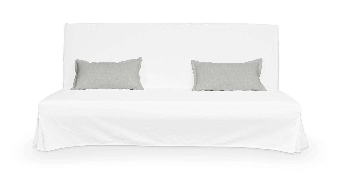 2 poszewki niepikowane na poduszki Beddinge poduszki Beddinge w kolekcji Chenille, tkanina: 702-23