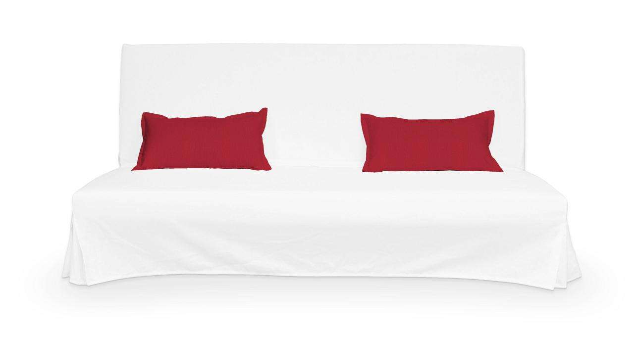 2 poszewki niepikowane na poduszki Beddinge poduszki Beddinge w kolekcji Chenille, tkanina: 702-24