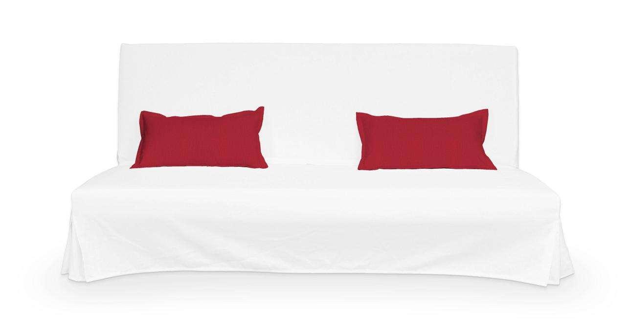 2 potahy na polštáře pohovky Beddinge - jednoduché bez prošití poduszki Beddinge v kolekci Chenille , látka: 702-24
