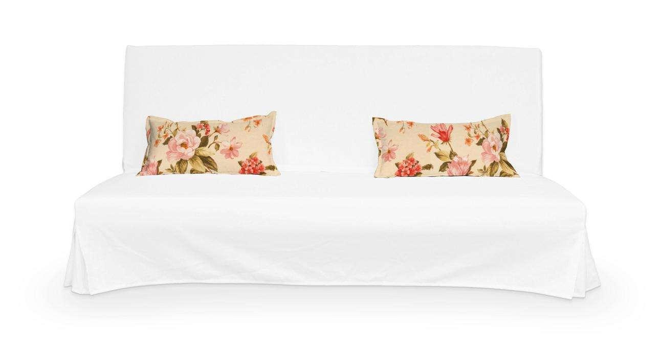 2 potahy na polštáře pohovky Beddinge - jednoduché bez prošití poduszki Beddinge v kolekci Londres, látka: 123-05