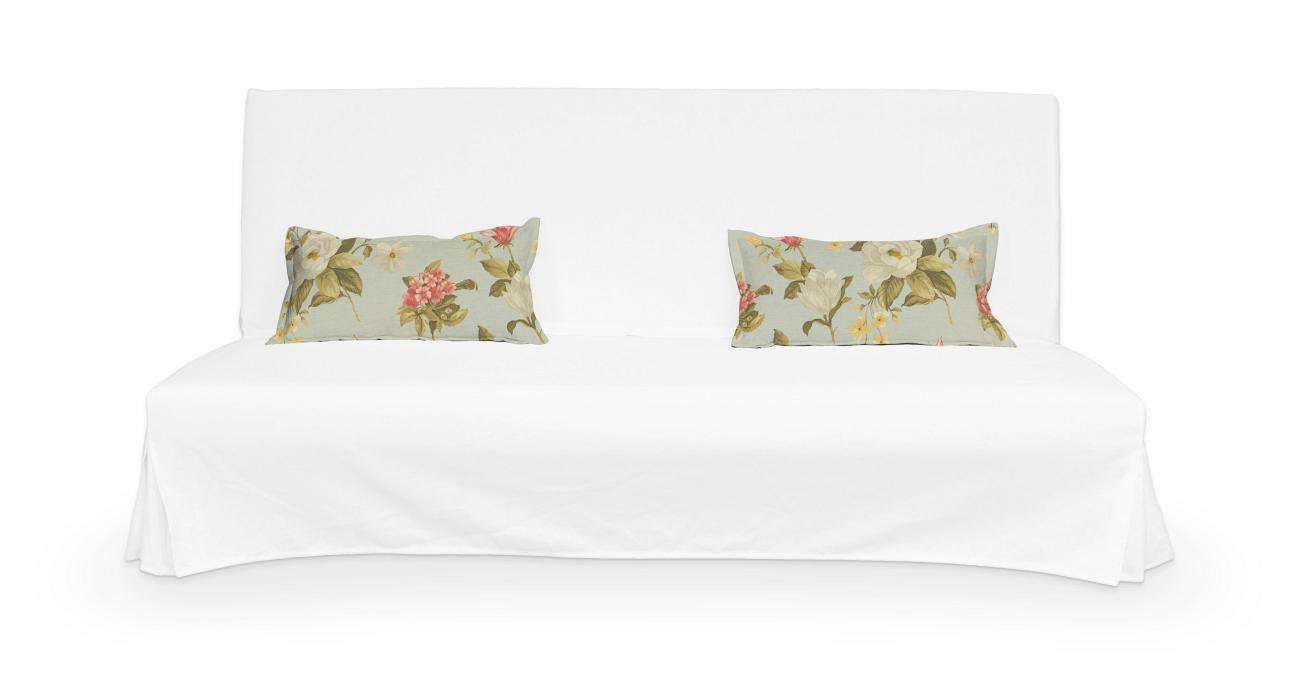 2 poszewki niepikowane na poduszki Beddinge poduszki Beddinge w kolekcji Londres, tkanina: 123-65