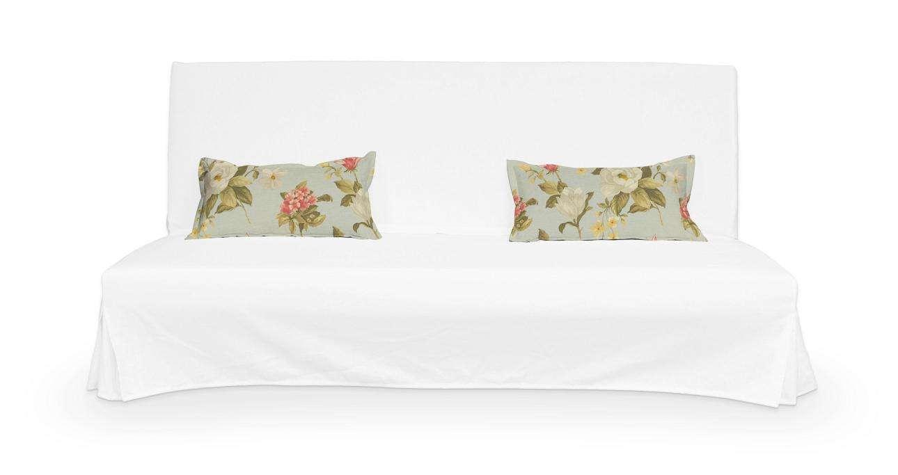 2 potahy na polštáře pohovky Beddinge - jednoduché bez prošití poduszki Beddinge v kolekci Londres, látka: 123-65