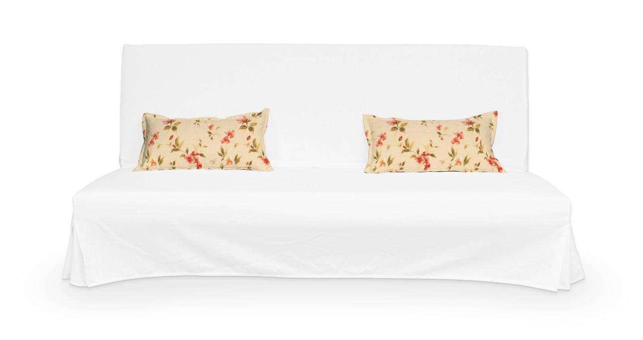 2 potahy na polštáře pohovky Beddinge - jednoduché bez prošití poduszki Beddinge v kolekci Londres, látka: 124-05