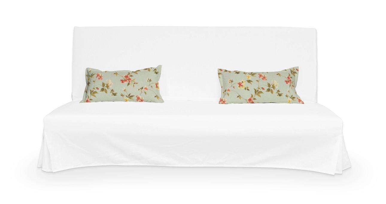 2 potahy na polštáře pohovky Beddinge - jednoduché bez prošití poduszki Beddinge v kolekci Londres, látka: 124-65