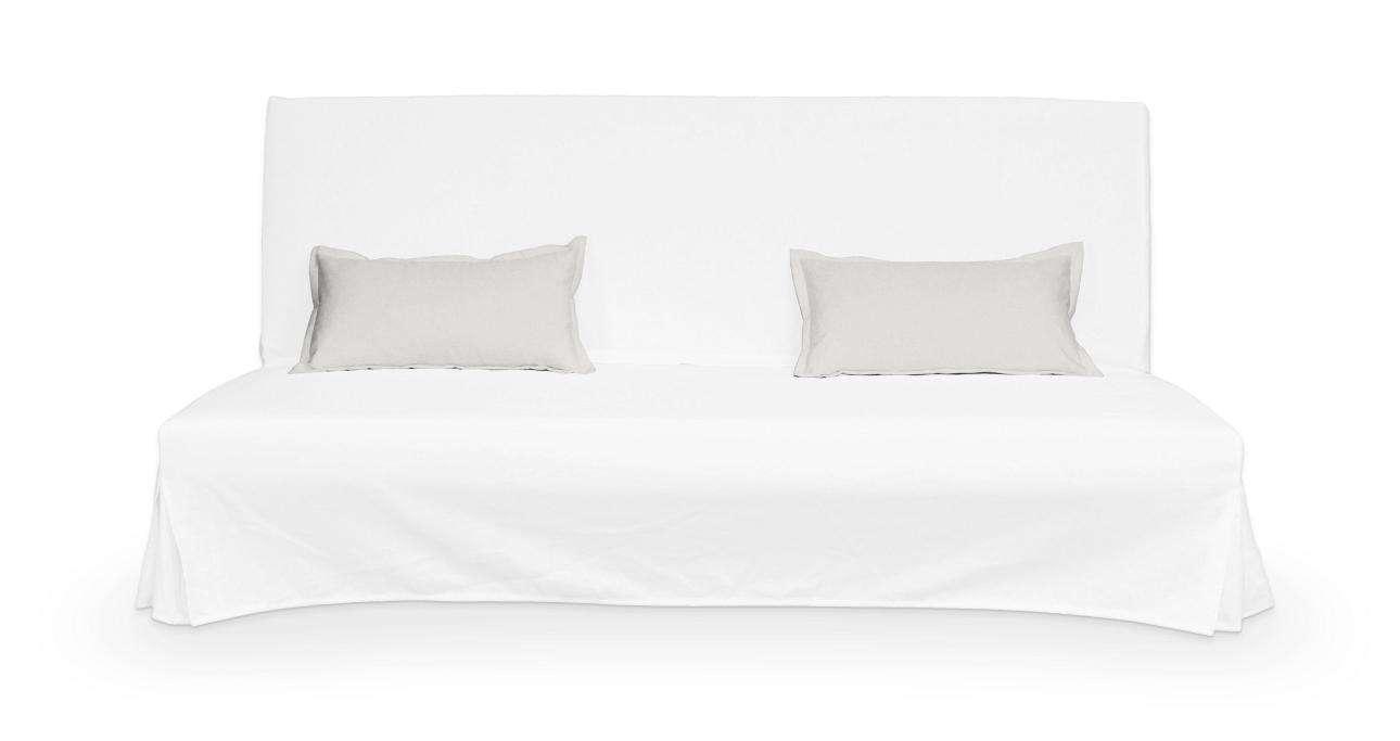 2 potahy na polštáře pohovky Beddinge - jednoduché bez prošití poduszki Beddinge v kolekci Etna, látka: 705-01