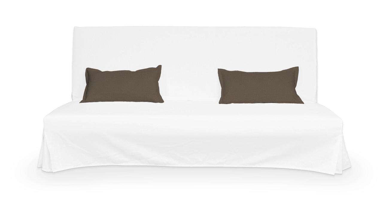 2 potahy na polštáře pohovky Beddinge - jednoduché bez prošití poduszki Beddinge v kolekci Etna, látka: 705-08