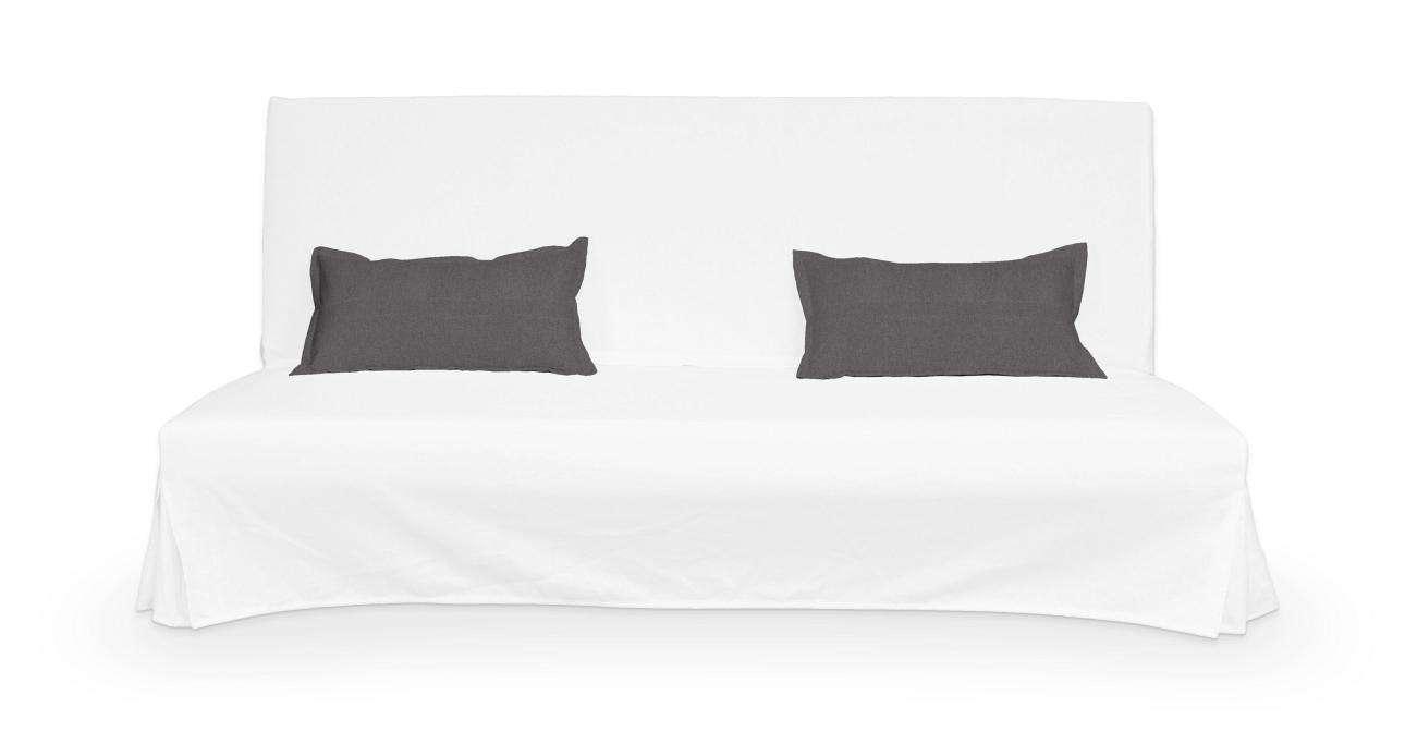 2 potahy na polštáře pohovky Beddinge - jednoduché bez prošití poduszki Beddinge v kolekci Etna, látka: 705-35