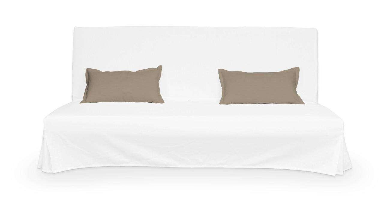 2 potahy na polštáře pohovky Beddinge - jednoduché bez prošití v kolekci Cotton Panama, látka: 702-28