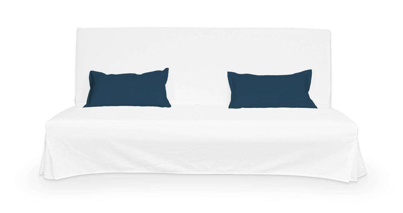 2 poszewki niepikowane na poduszki Beddinge poduszki Beddinge w kolekcji Cotton Panama, tkanina: 702-30