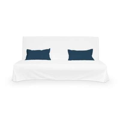2 obliečky na vankúše Beddinge 702-30 modrá morská Kolekcia Cotton Panama