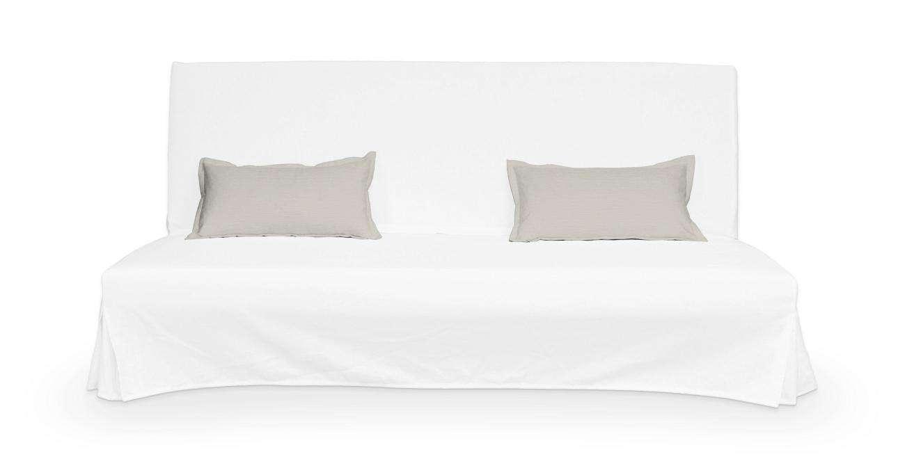 2 poszewki niepikowane na poduszki Beddinge w kolekcji Cotton Panama, tkanina: 702-31