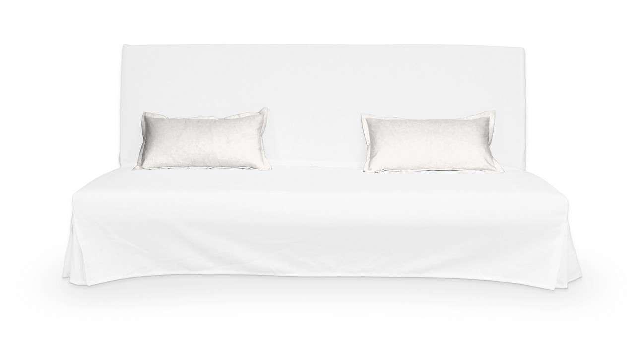 2 poszewki niepikowane na poduszki Beddinge poduszki Beddinge w kolekcji Cotton Panama, tkanina: 702-34