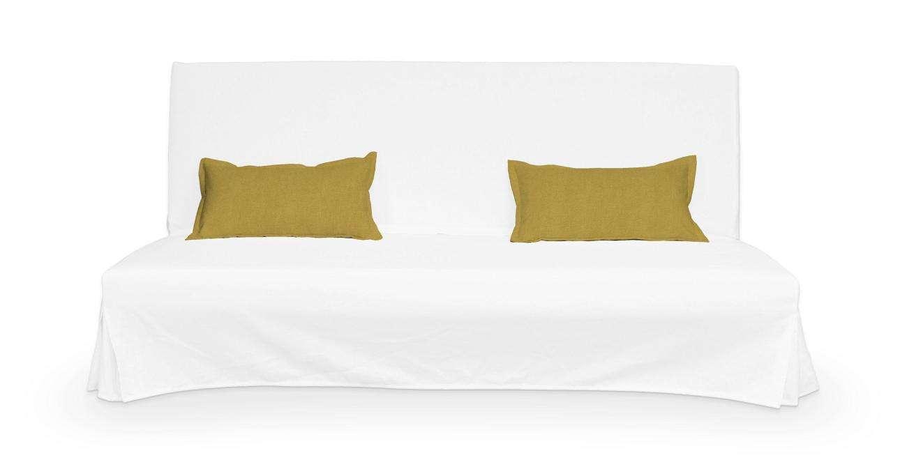 2 poszewki niepikowane na poduszki Beddinge w kolekcji Etna, tkanina: 705-04