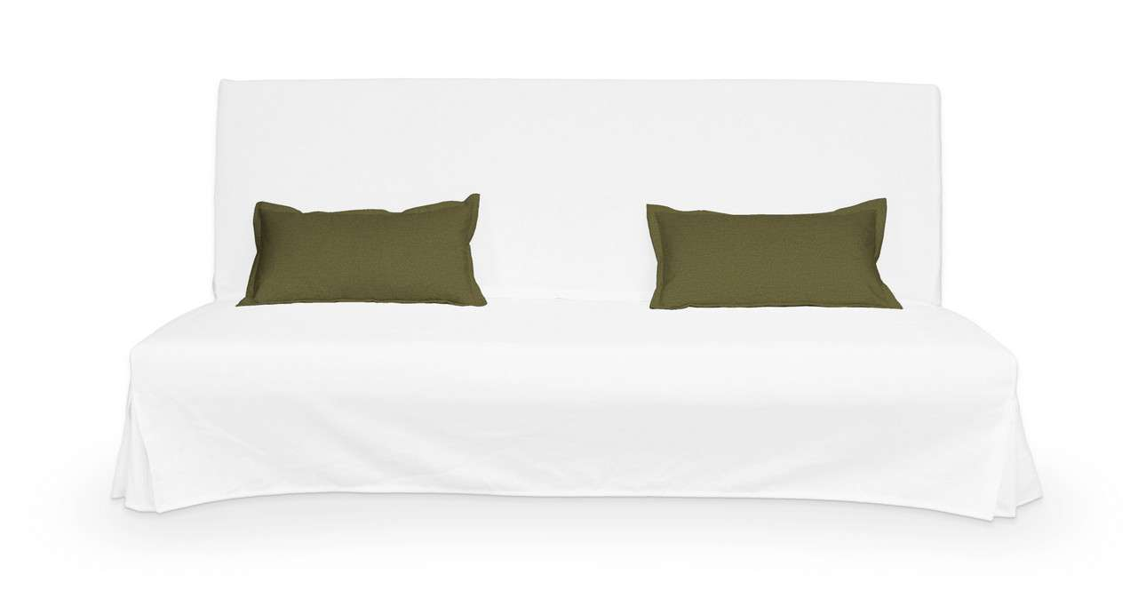 2 poszewki niepikowane na poduszki Beddinge w kolekcji Etna, tkanina: 161-26