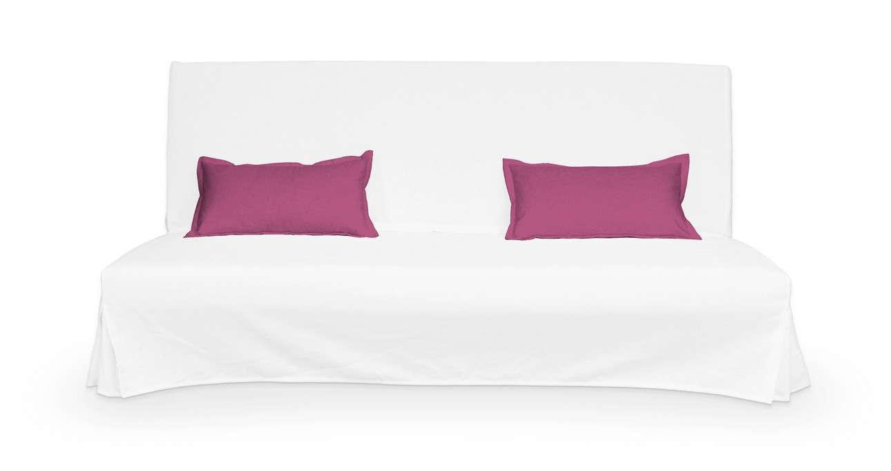 2 poszewki niepikowane na poduszki Beddinge w kolekcji Living, tkanina: 161-29