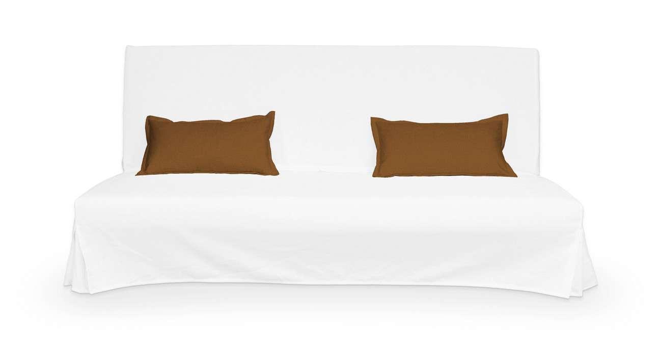 2 poszewki niepikowane na poduszki Beddinge w kolekcji Living, tkanina: 161-28