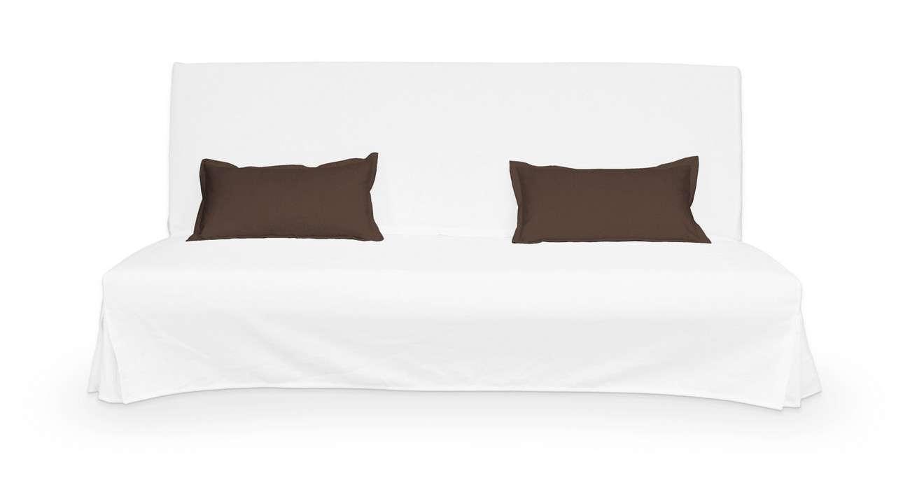 2 poszewki niepikowane na poduszki Beddinge w kolekcji Bergen, tkanina: 161-73