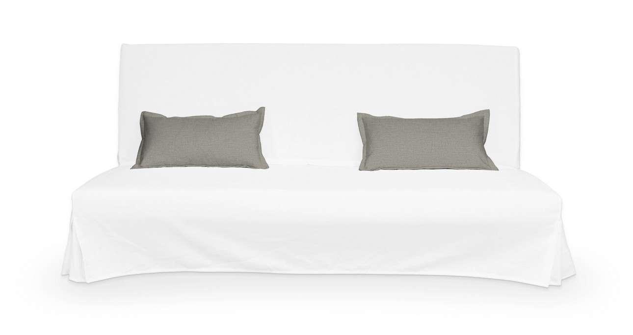 2 poszewki niepikowane na poduszki Beddinge w kolekcji Bergen, tkanina: 161-83