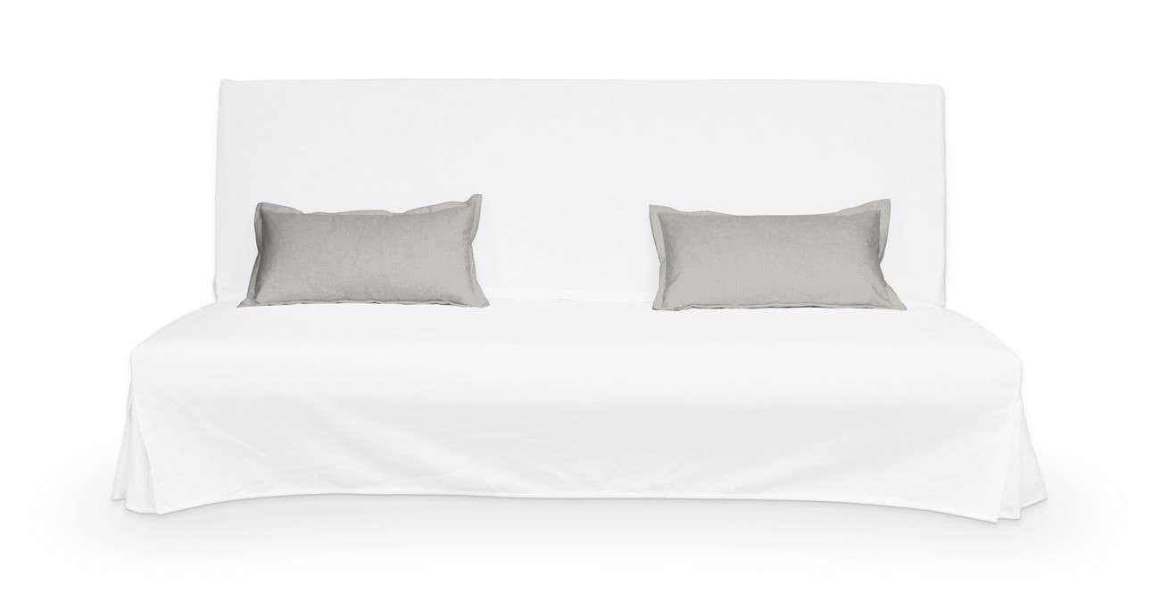 2 poszewki niepikowane na poduszki Beddinge w kolekcji Bergen, tkanina: 161-84