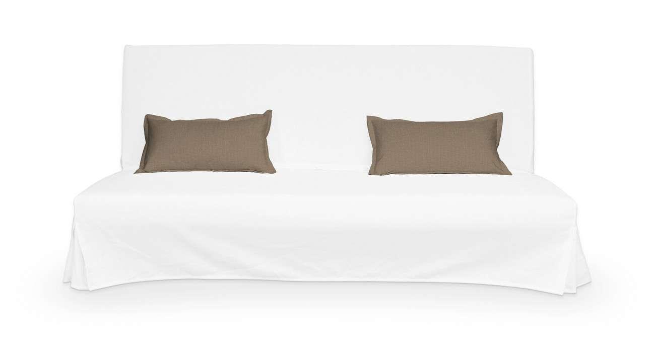 2 poszewki niepikowane na poduszki Beddinge w kolekcji Bergen, tkanina: 161-85