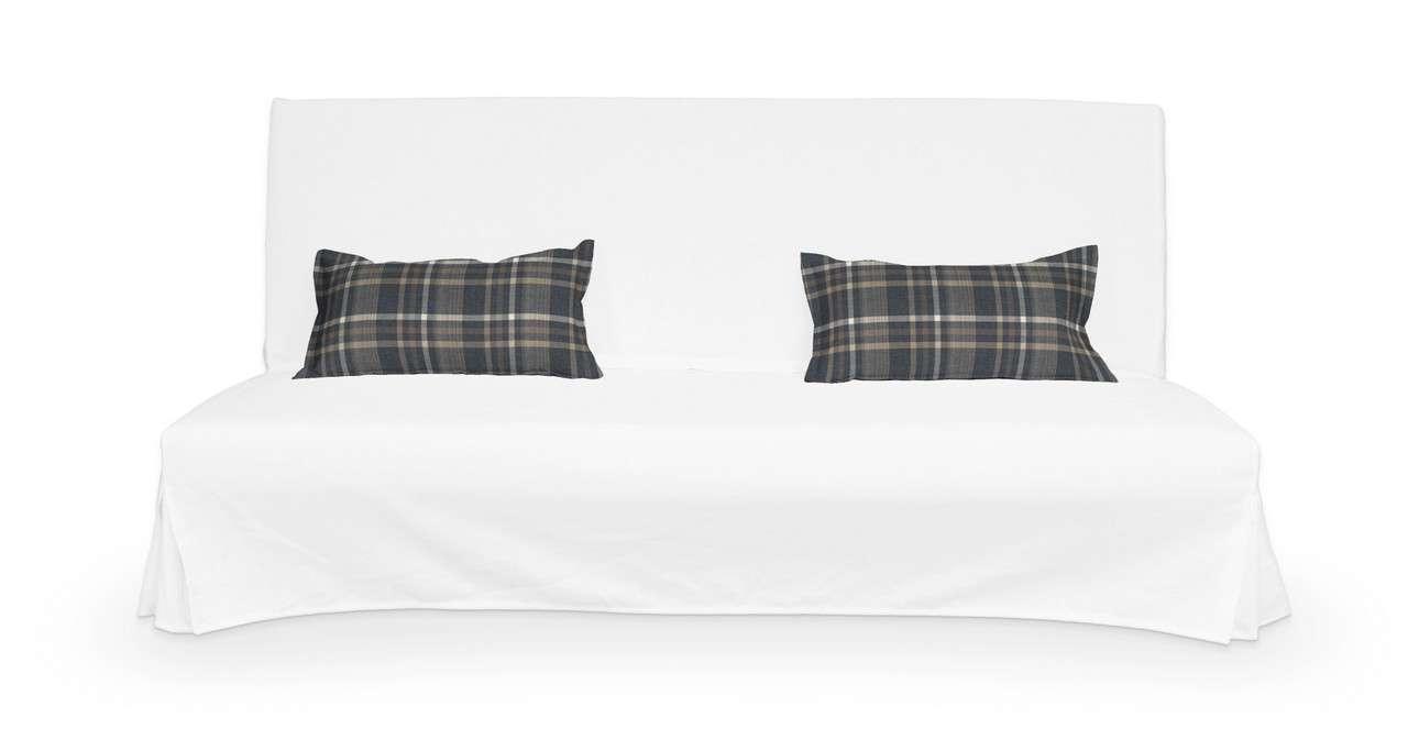 2 poszewki niepikowane na poduszki Beddinge w kolekcji Edinburgh, tkanina: 703-16