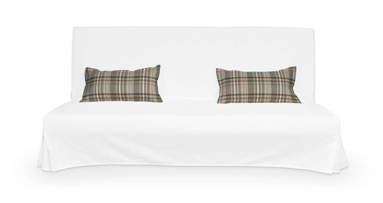 2 poszewki niepikowane na poduszki Beddinge w kolekcji Edinburgh, tkanina: 703-17