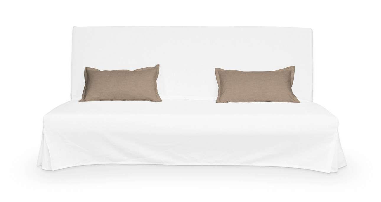 2 poszewki niepikowane na poduszki Beddinge w kolekcji Bergen, tkanina: 161-75