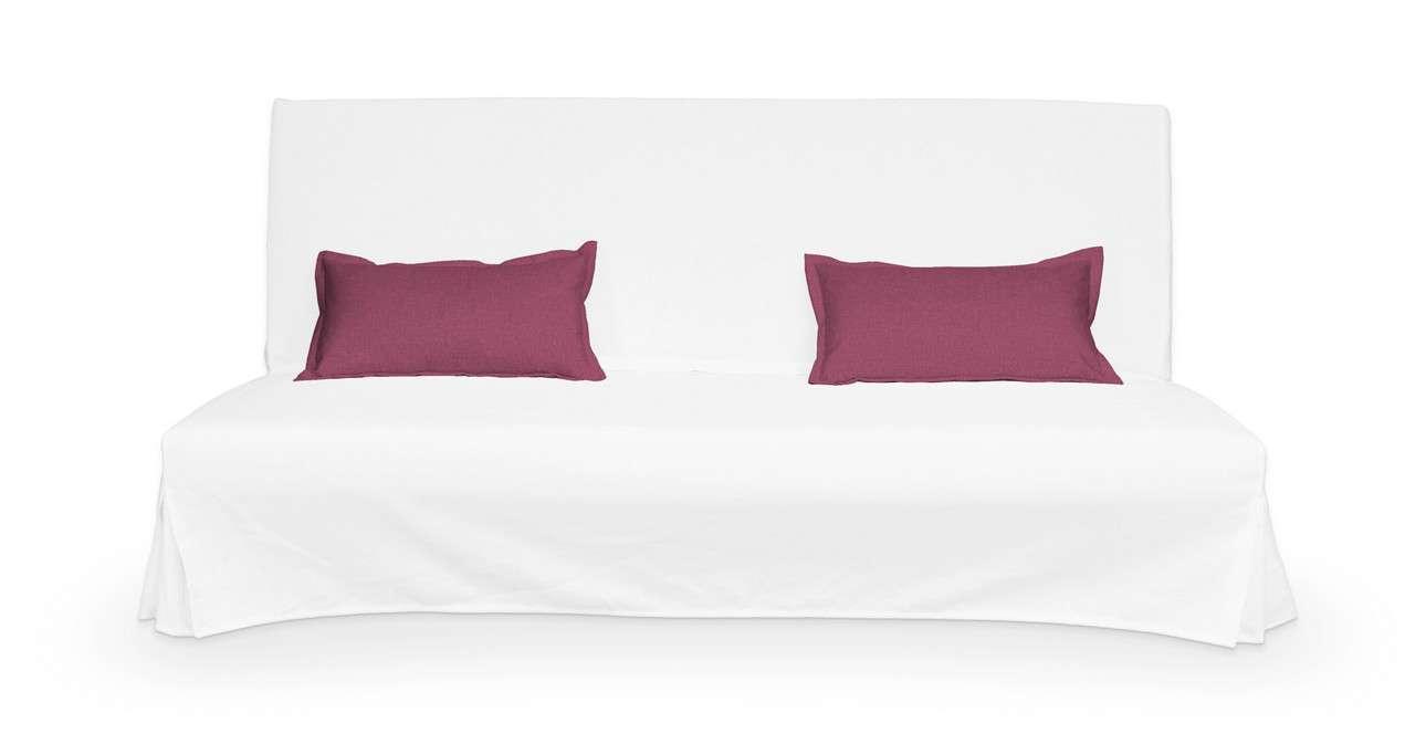 2 poszewki niepikowane na poduszki Beddinge w kolekcji Living, tkanina: 160-44
