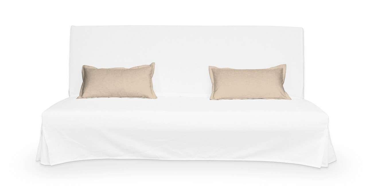 2 poszewki niepikowane na poduszki Beddinge w kolekcji Living, tkanina: 160-61