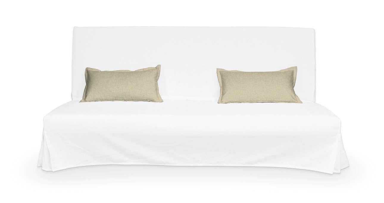 2 poszewki niepikowane na poduszki Beddinge w kolekcji Living, tkanina: 161-45
