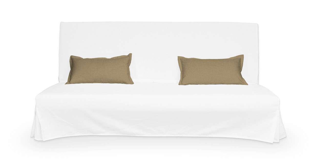 2 poszewki niepikowane na poduszki Beddinge w kolekcji Living, tkanina: 161-50