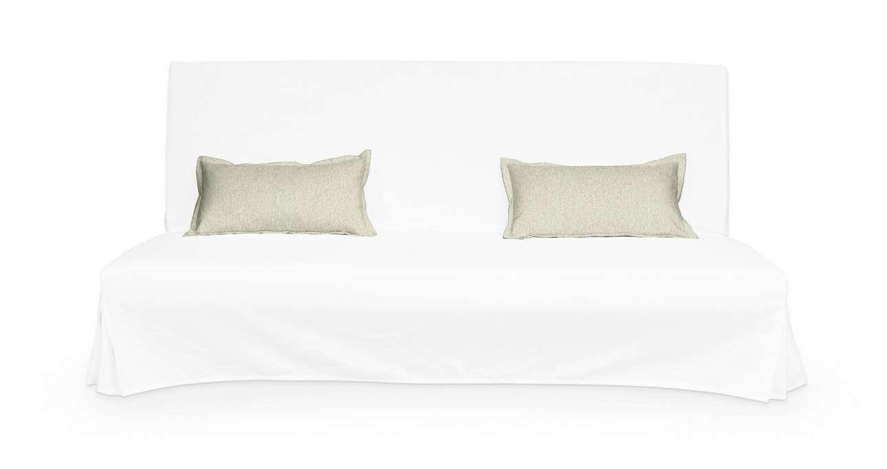 2 poszewki niepikowane na poduszki Beddinge w kolekcji Living, tkanina: 161-62
