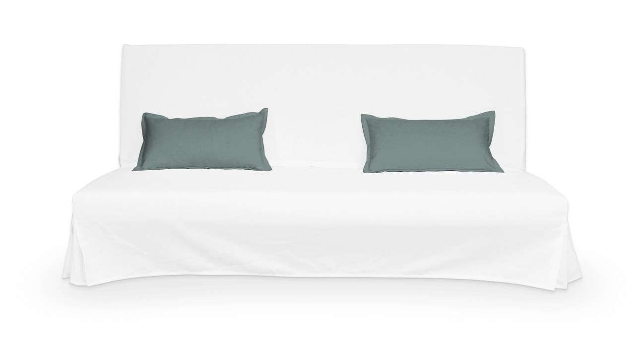 2 poszewki niepikowane na poduszki Beddinge w kolekcji Cotton Panama, tkanina: 702-40