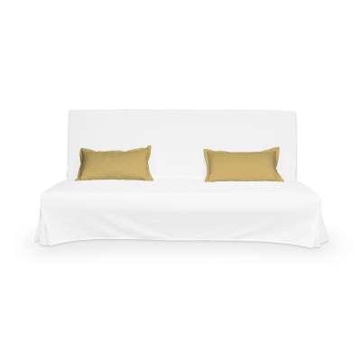 2 poszewki niepikowane na poduszki Beddinge 702-41 zgaszony żółty Kolekcja Cotton Panama