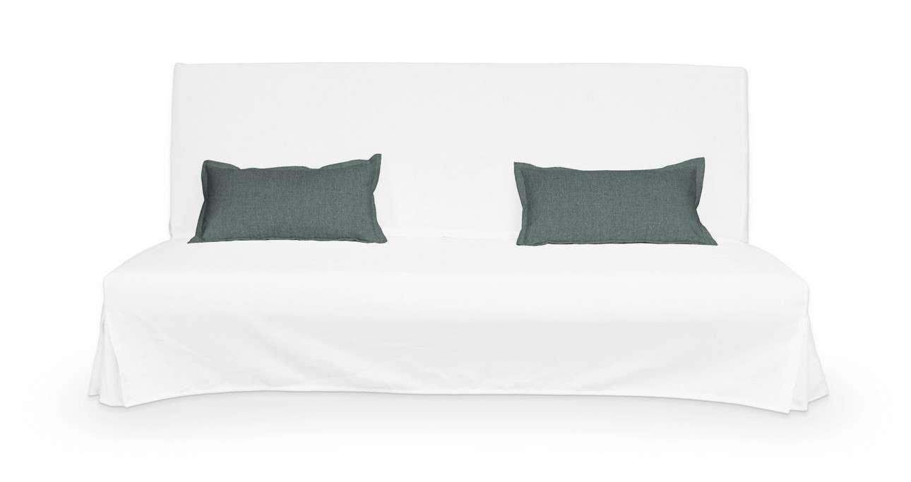 2 poszewki niepikowane na poduszki Beddinge w kolekcji City, tkanina: 704-85