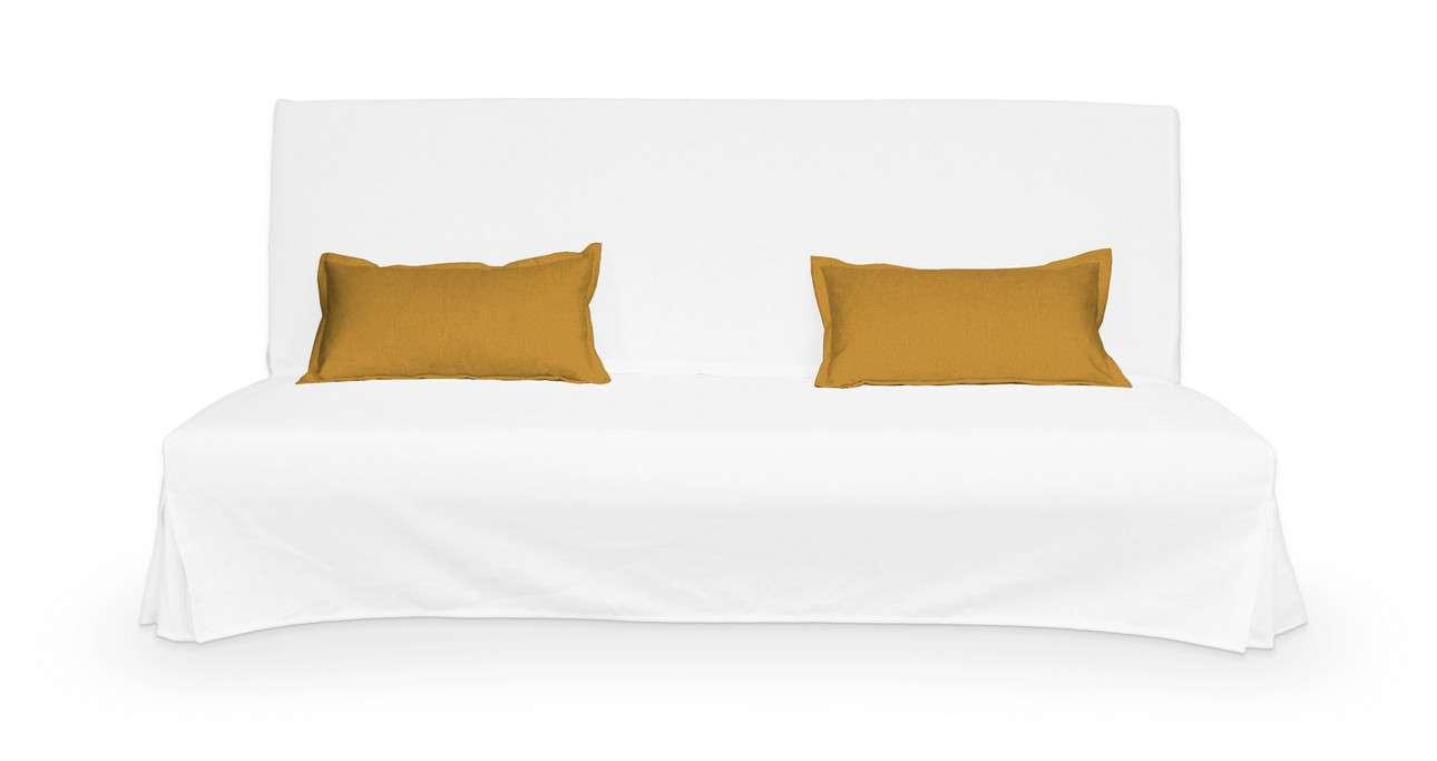 2 poszewki niepikowane na poduszki Beddinge w kolekcji Living, tkanina: 161-64