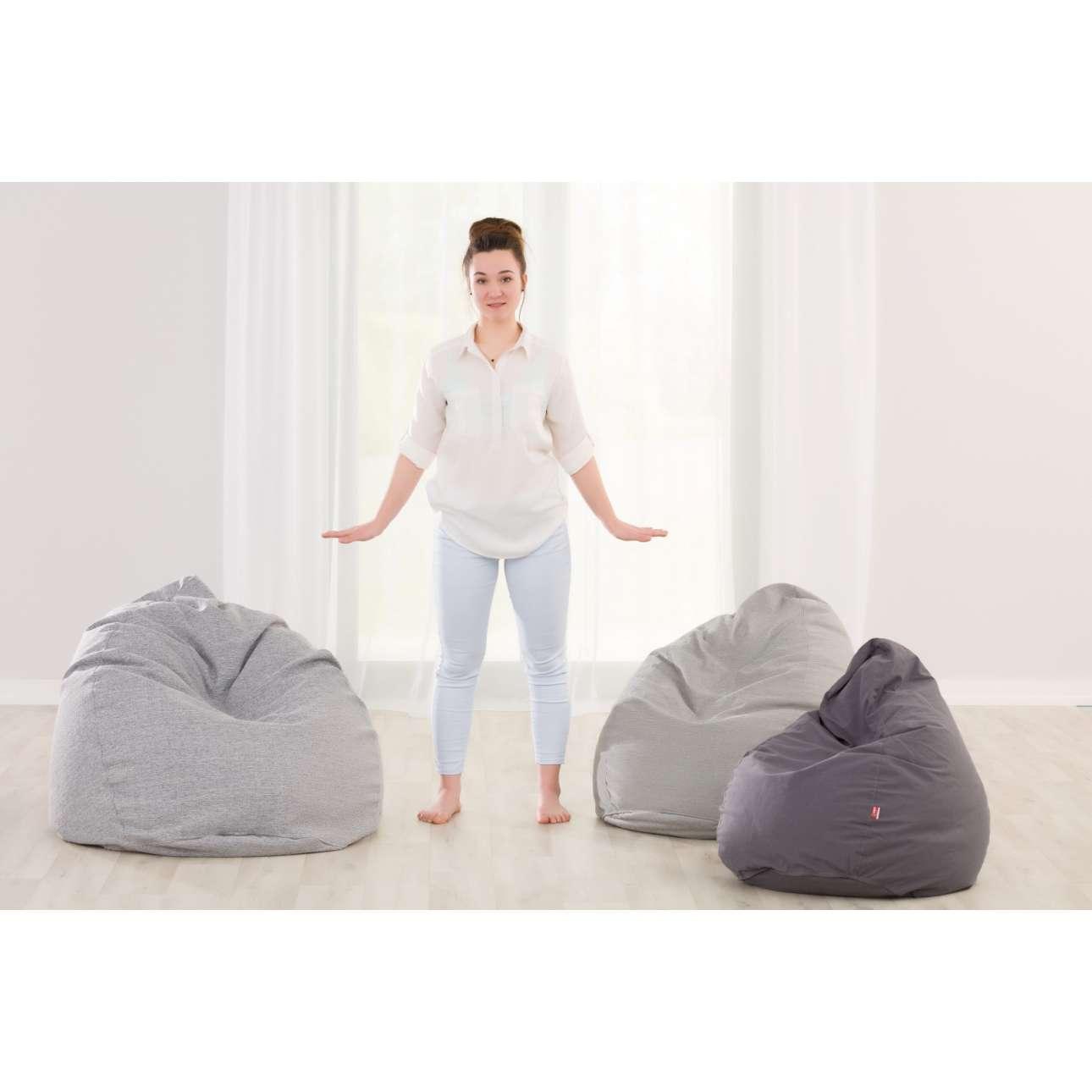 Sitzsack, braun, Ø80 × 115 cm, Loneta (133-09) günstig online kaufen