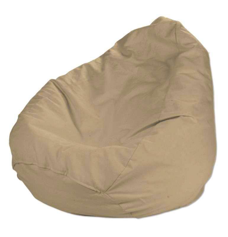 Worek do siedzenia Ø50x85 cm w kolekcji Cotton Panama, tkanina: 702-01