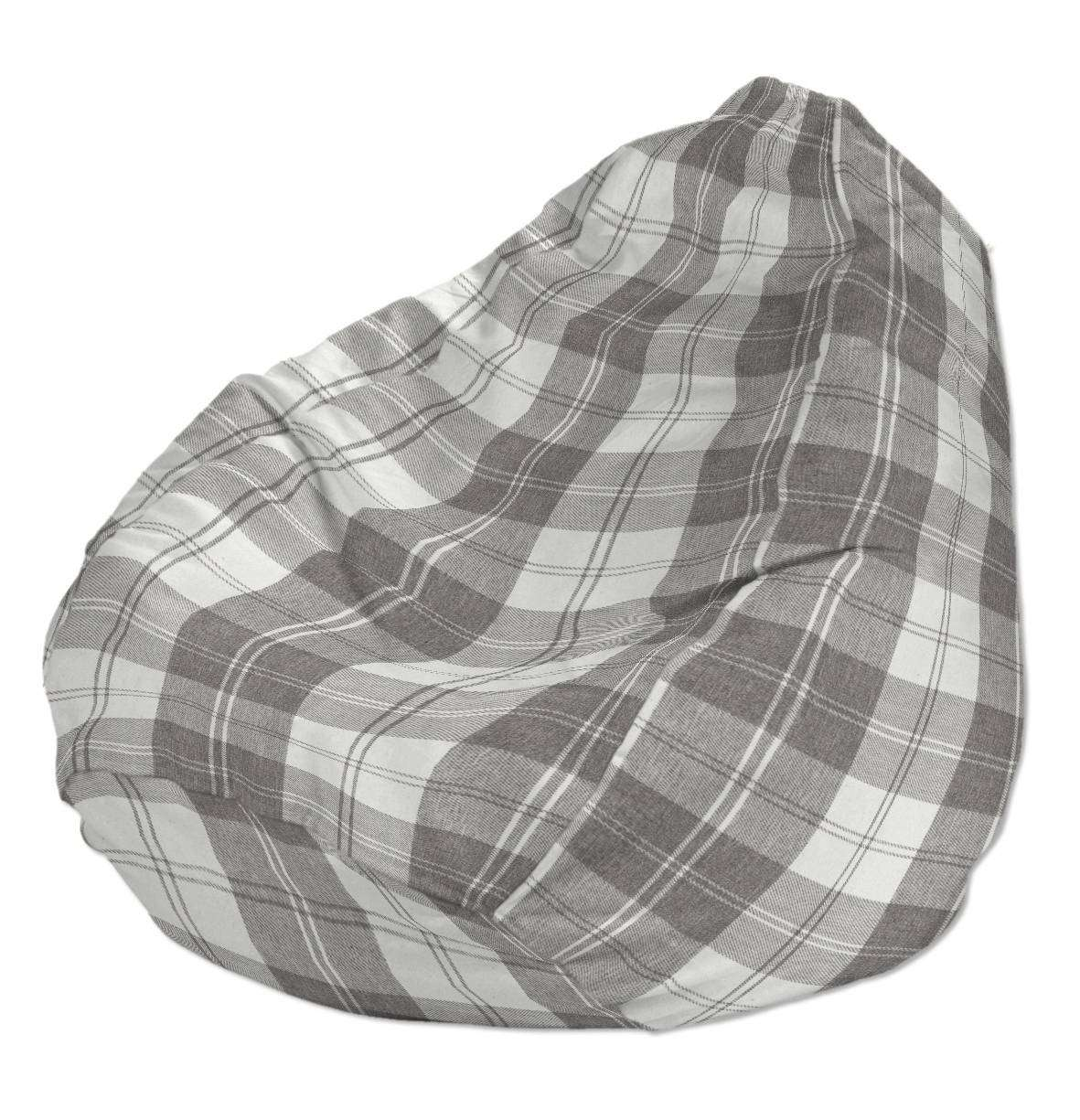 Beanbag Ø50 x 85 cm (20 x 33,5 inch) in collection Edinburgh, fabric: 115-79