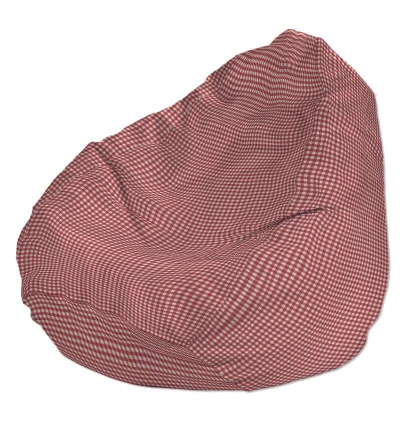 Worek do siedzenia Ø50x85 cm w kolekcji Quadro, tkanina: 136-15