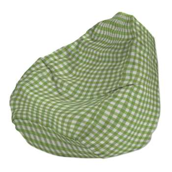 Beanbag Ø50 x 85 cm (20 x 33,5 inch) in collection Quadro, fabric: 136-34