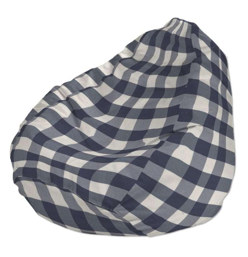 Worek do siedzenia Ø50x85 cm w kolekcji Quadro, tkanina: 136-03