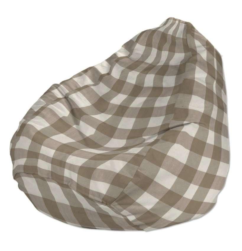Worek do siedzenia Ø50x85 cm w kolekcji Quadro, tkanina: 136-08