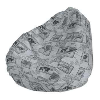 Beanbag Ø50 x 85 cm (20 x 33,5 inch) in collection SALE, fabric: 630-18