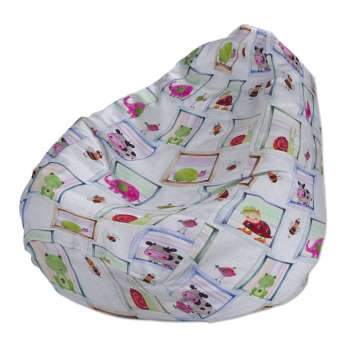 Beanbag Ø50 x 85 cm (20 x 33,5 inch) in collection Apanona, fabric: 151-04