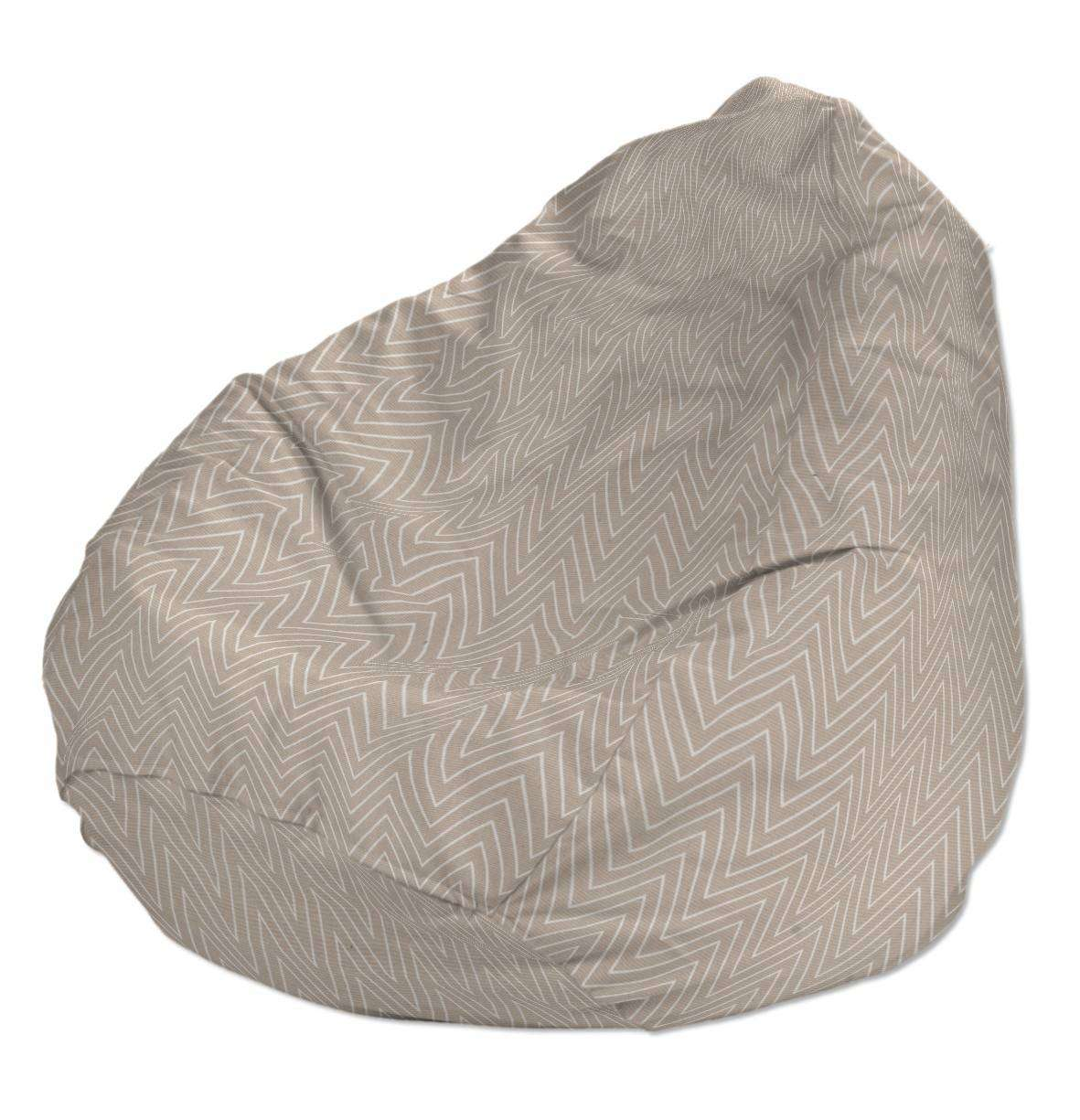 Beanbag Ø50 x 85 cm (20 x 33,5 inch) in collection Brooklyn, fabric: 137-91