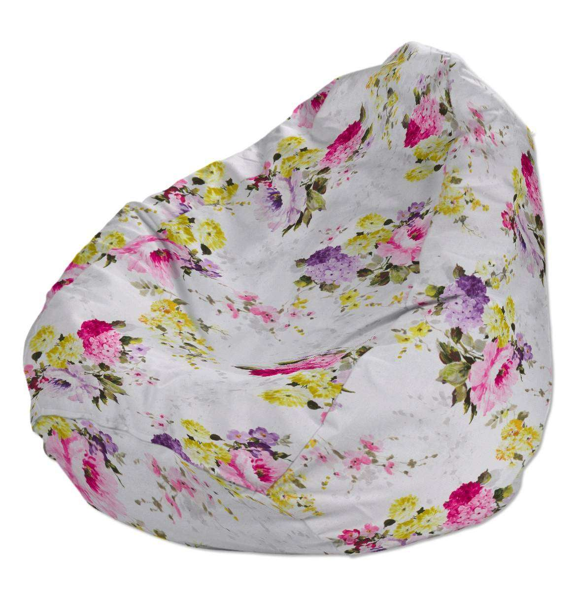 Beanbag Ø50 x 85 cm (20 x 33,5 inch) in collection Monet, fabric: 140-00