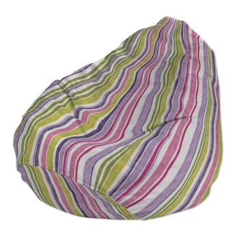 Beanbag Ø50 x 85 cm (20 x 33,5 inch) in collection Monet, fabric: 140-01
