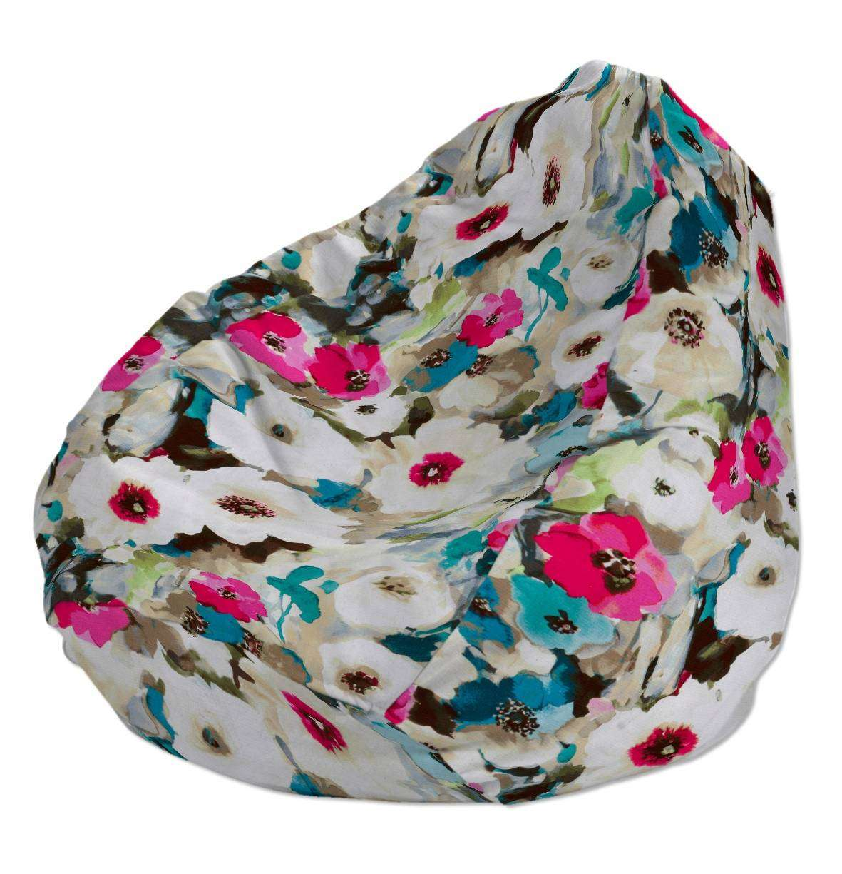 Beanbag Ø50 x 85 cm (20 x 33,5 inch) in collection Monet, fabric: 140-08